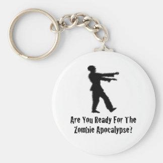 Zombie Apocalypse Key Chain