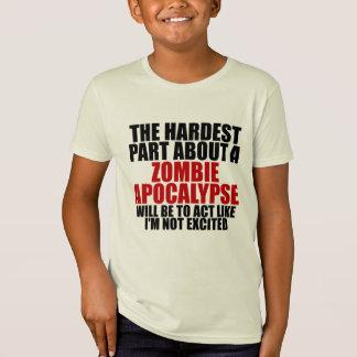 Zombie apocalypse Kids organic t-shirt