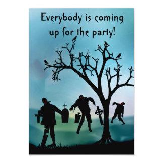 Zombie Apocalypse or Halloween Party Invitation
