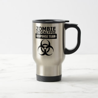 Zombie Apocalypse Response Team Travel Mugs