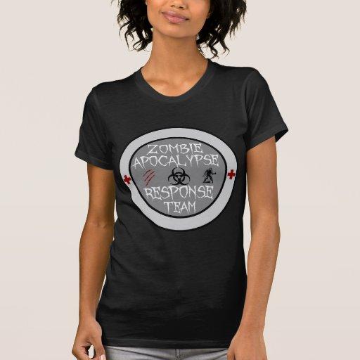 Zombie apocalypse response team tshirts