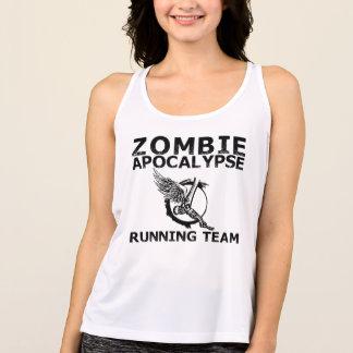 Zombie Apocalypse Running Team Tank Top