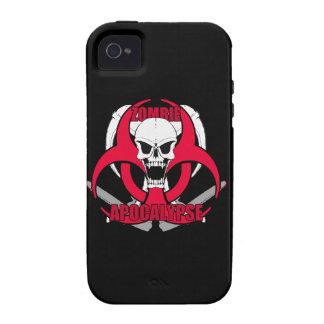Zombie Apocalypse rw Vibe iPhone 4 Case