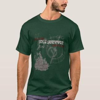 Zombie Apocalypse Sole Survivor T Shirt