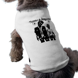 ZOMBIE APOCALYPSE T-SHIRT FOR DOGS