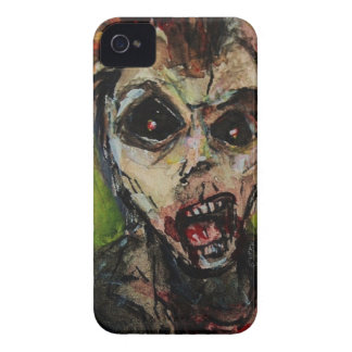 Zombie Apocolypse Art iPhone 4 Case-Mate Case