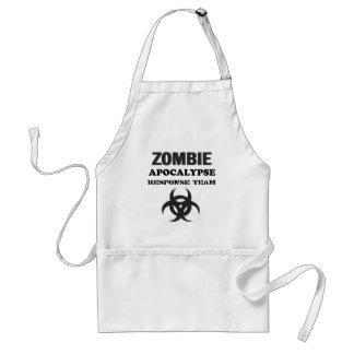 Zombie Apocolypse Response Team Standard Apron