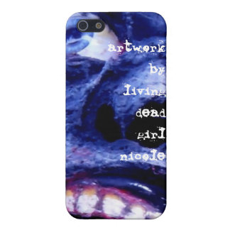 Zombie Artwork By Living Dead Girl Nicole iphone c iPhone 5/5S Cases