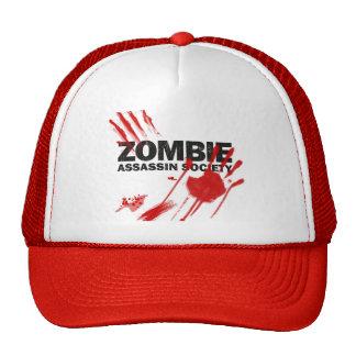 Zombie Assassin Society Hats