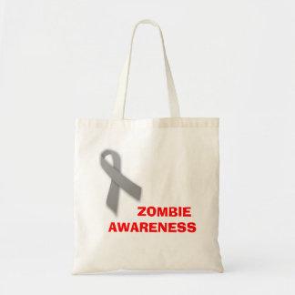 Zombie Awareness Tote Bag