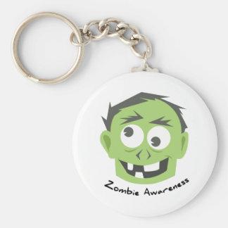 Zombie Awareness Keychain
