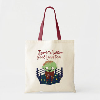 Zombie Babies Need Love Tote