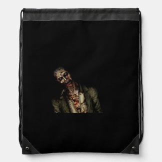 zombie bag drawstring backpacks