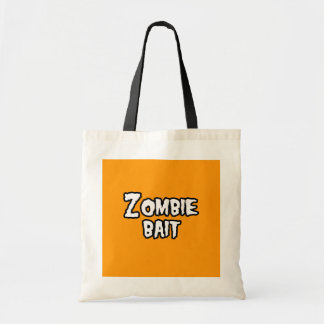 ZOMBIE BAIT - - Halloween Bag