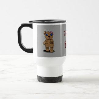 Zombie Bear Travel Mug