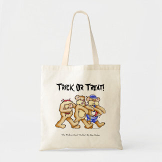 Zombie Bears, Trick Or Treat!, Budget Tote Bag