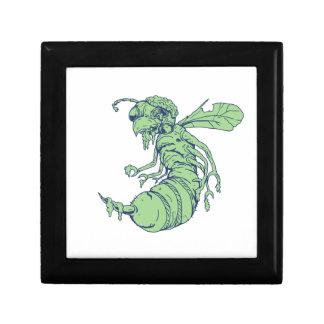 Zombie Bee Cartoon Gift Box