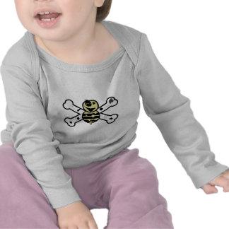 zombie bee zombee and crossbones shirts