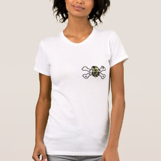 zombie bee zombee and crossbones t shirts