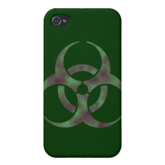 Zombie Biohazard Symbol iPhone 4/4S Cases