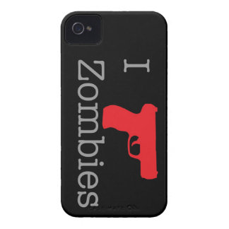 Zombie Black Slim iPhone 4 Cases