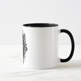 Zombie broach mug