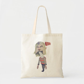zombie budget tote bag