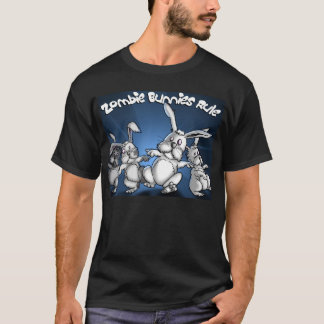 Zombie Bunnies! - Customized T-Shirt