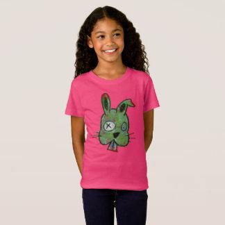"""Zombie Bunny"" Girls' Fine Jersey T-Shirt"