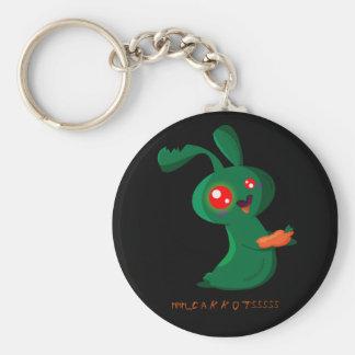 Zombie Bunny Keychains