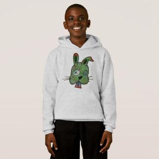 """Zombie Bunny"" Kids' Hanes ComfortBlend® Hoodie"