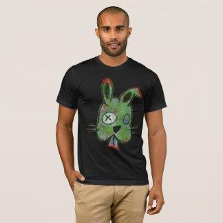 """Zombie Bunny"" Men's Basic American Apparel Tee"