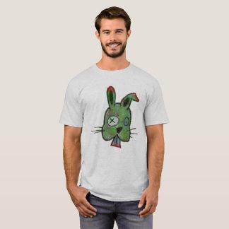 """Zombie Bunny"" Men's Basic T-Shirt"