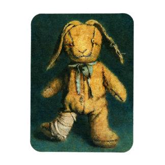 Zombie Bunny Photo Magnet