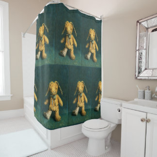 Zombie Bunny Shower Curtains