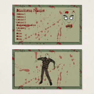 Zombie Business Cards v2