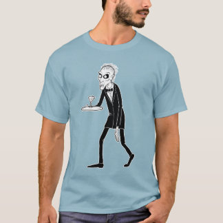 Zombie Butler on Dark Color Tee
