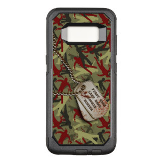 Zombie Camo with Dog Tags OtterBox Commuter Samsung Galaxy S8 Case
