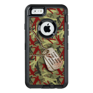 Zombie Camo with Dog Tags OtterBox iPhone 6/6s Case
