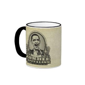 Zombie Capitalism Obamanomics Mug