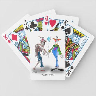 Zombie Cartoon 9373 Poker Deck