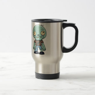 Zombie Cartoon Travel Mug