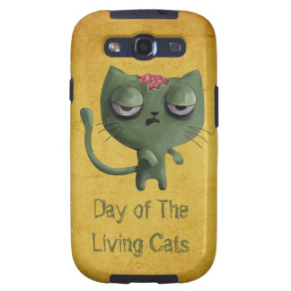 Zombie Cat Samsung Galaxy SIII Cases