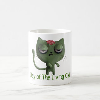 Zombie Cat Coffee Mug