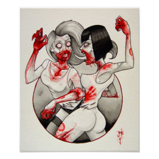 Zombie Catfight! Posters