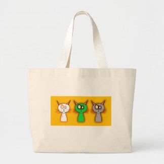 Zombie Cats! Jumbo Tote Bag