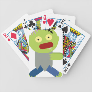 Zombie Chase Bicycle Playing Cards