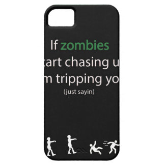 Zombie Chase iPhone 5 Case