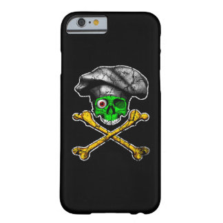 Zombie Chef Skull Barely There iPhone 6 Case
