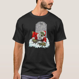 Zombie Christmas Horror T-Shirt